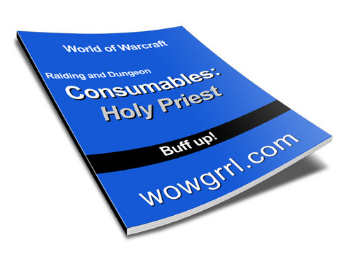 Product picture World of Warcraft - Level 80 Holy Priest Consumables Guide