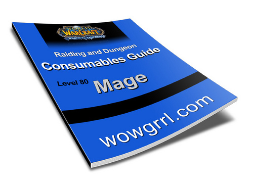 Product picture World of Warcraft - Level 80 Mage Consumables Guide